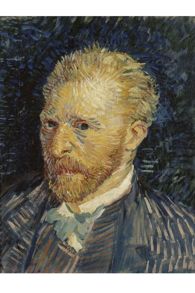 Vincent van Gogh: Self-portrait, 1887, Musée d'Orsay (Van Gogh and Britain)