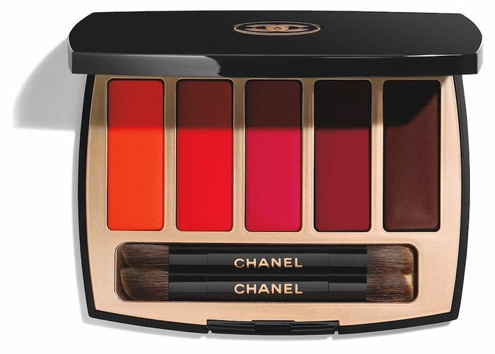 Paletka barev na rty z kolekce Maximalisme de Chanel, Chanel, 65 €