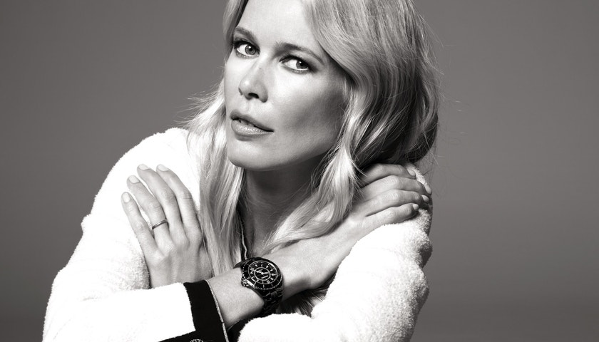 Claudia Schiffer se vrací do Chanel