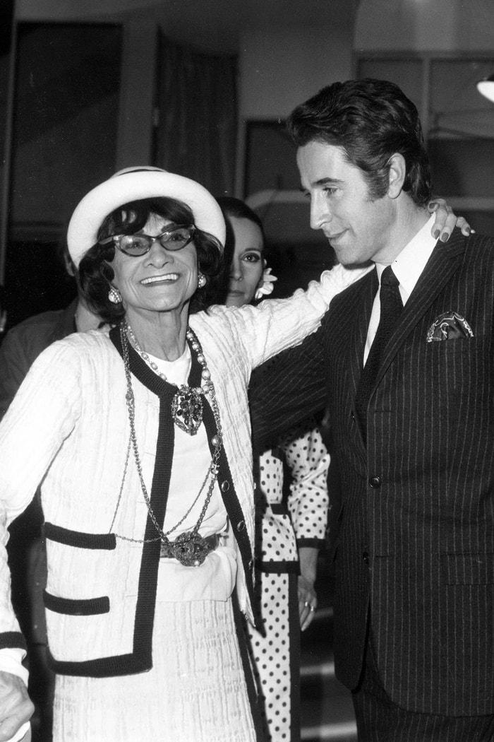 Chanel a tanečník Jacques Chazot, 1969 Autor: Getty Images
