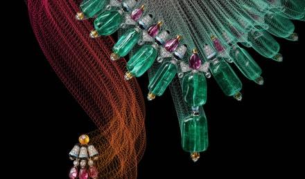 Náhrdelník z haute joaillerie kolekce Cartier Coloratura