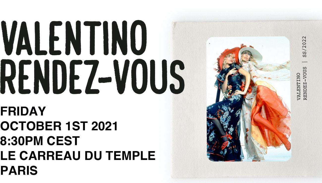 Živě z Paříže: Rande s Valentinem v kolekci jaro-léto 2022