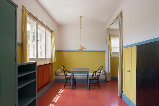 Müllerova vila, dětský pokoj