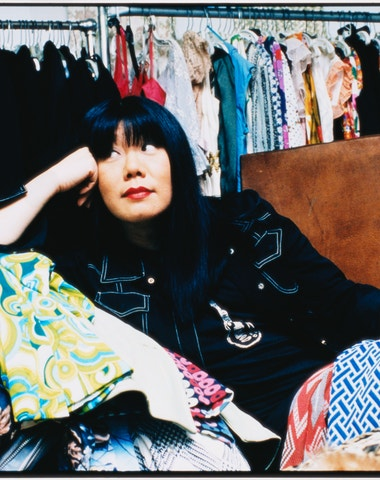 Checking in with Anna Sui