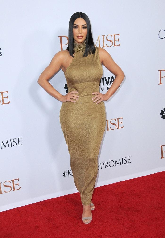 Kim Kardashian West na premiéře filmu The Promise, 2017 Autor: Barry King/Getty Images