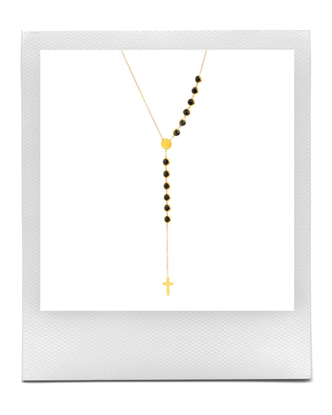 Zlatý náhrdelník růženec, Apart  prodává Apart, 5 919 Kč
