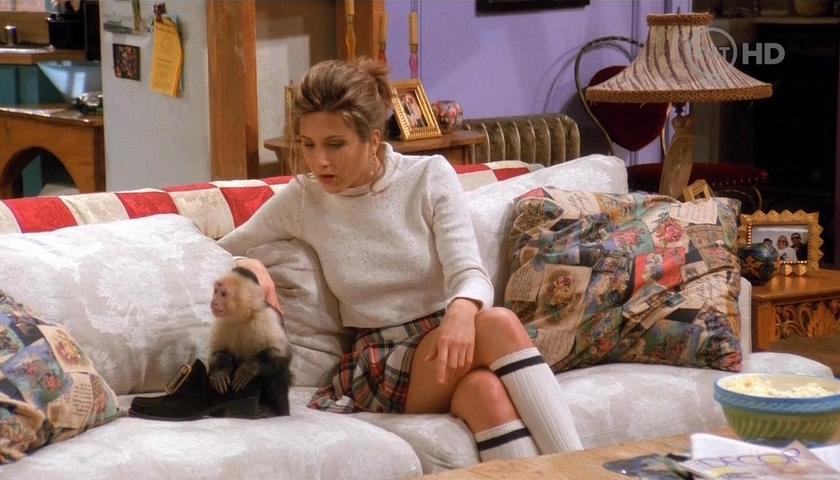 Mini kilt Jennifer Aniston se vrací na scénu
