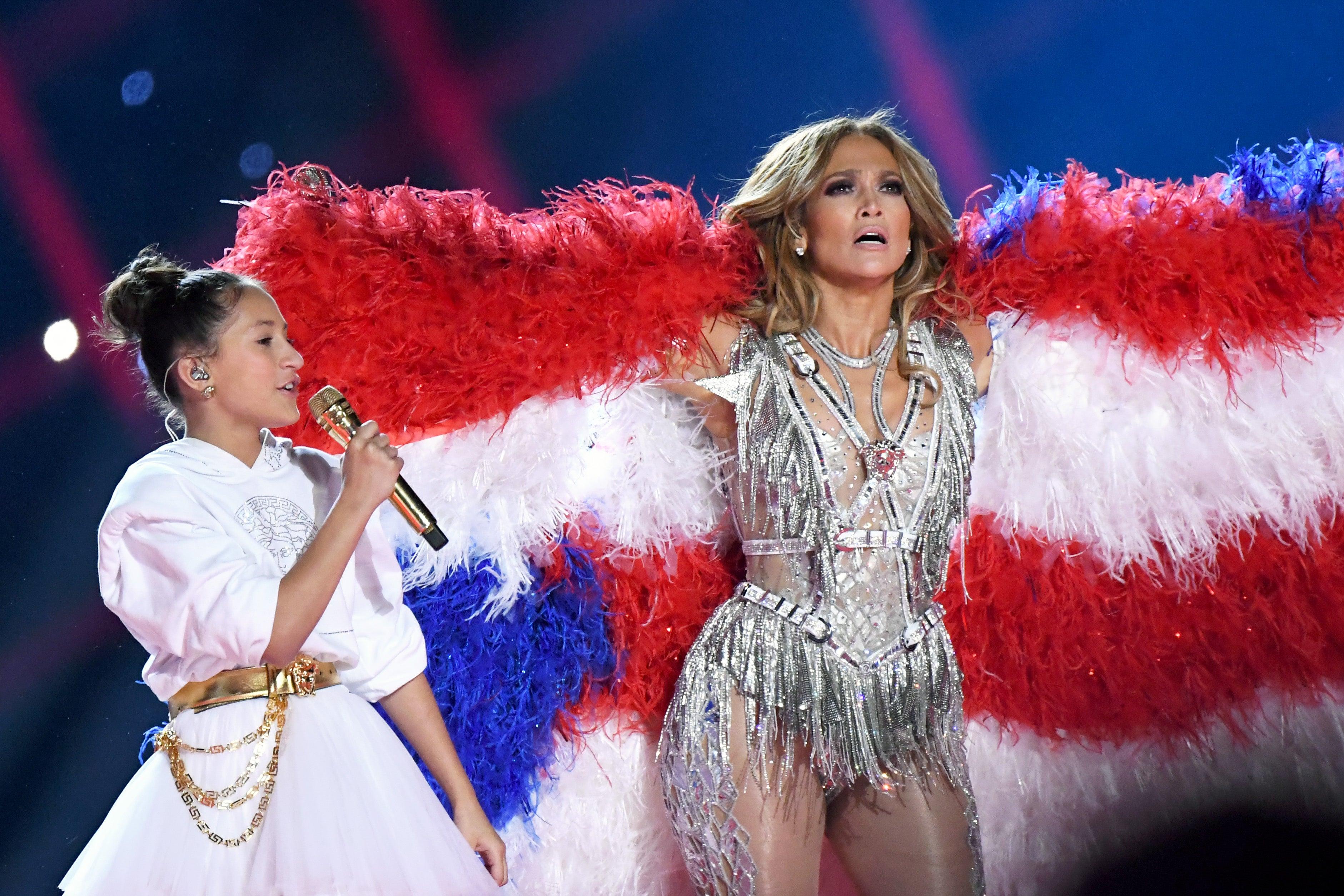 Jennifer Lopez se svou dcerou Emme Maribel Muñiz, 2020 Autor: Jeff Kravitz/FilmMagic