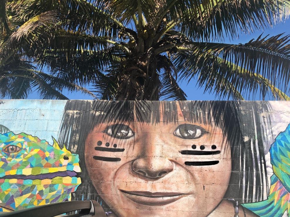 Street art v Tulumu