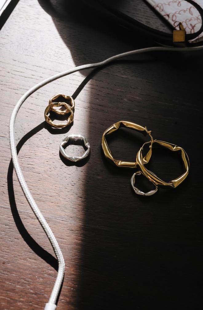 Ukázka z kolekce šperků, kterou Zuzana loni vytvořila pro Arket