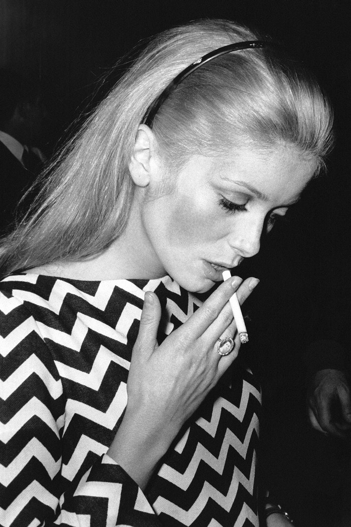 Catherine Deneuve, cca 1960 Autor: Reporters Associes/Gamma-Rapho via Getty Images