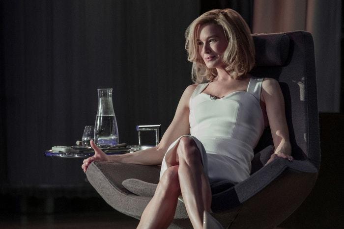 What/If: Femme fatale v  thrilleru Mikea Kelleyho těží z vynikajícího výkonu oscarové Renée Zellweger. V roli, která by nemohla být vzdálenější Bridget Jones, dává návrh mladému páru. Vědkyni Lise nabídne investici ve výši 80 milionů dolarů na oplátku za noc s jejím manželem. Následuje desetidílný příběh o morálce, který je stejně absurdní jako návykový. (právě běží) Autor: Netflix