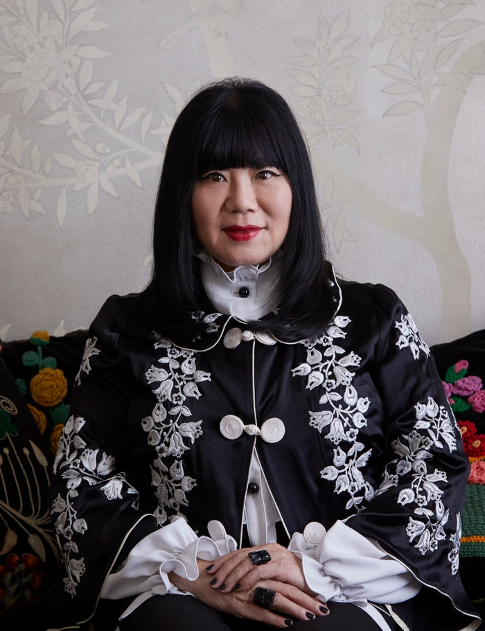 Anna Sui photographed by Miguel Flores-Vianna