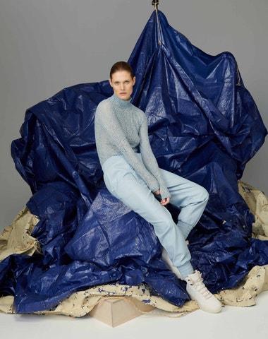 Cover star Vogue CS Małgosia Bela tváří nové kampaně Reserved