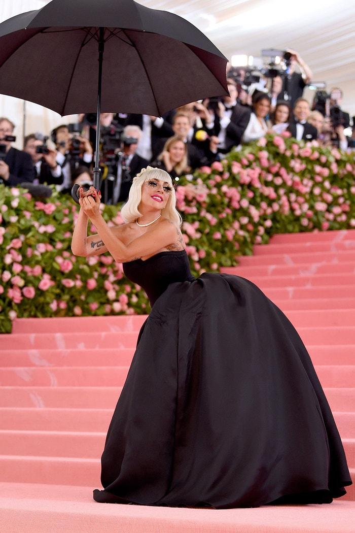 Lady Gaga na Met Gala 2019, téma Camp: Notes on Fashion, Metropolitní muzeum v New Yorku, květen 2019 Autor: Jamie McCarthy/Getty Images