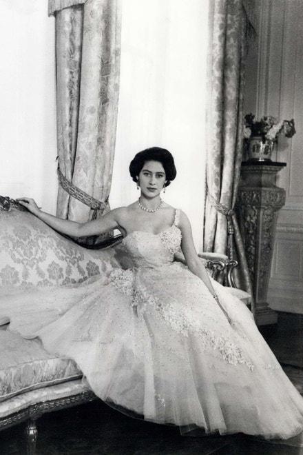 Princezna Margaret na portrétu pořízeném ke 26. narozeninám, 1956