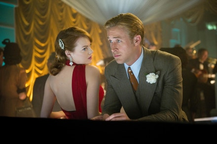 Emma Stone a Ryan Gosling ve filmu Gangster Squad - Lovci mafie, 2012