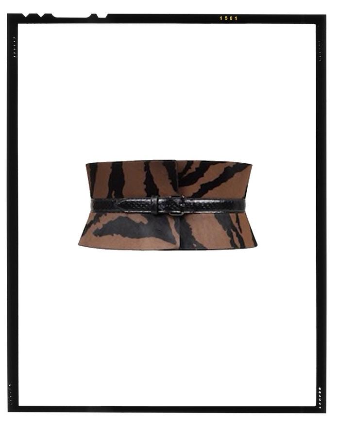 Calfskin and water snake corset belt, Alaïa, sold by Alaïa, 1,050 EUR