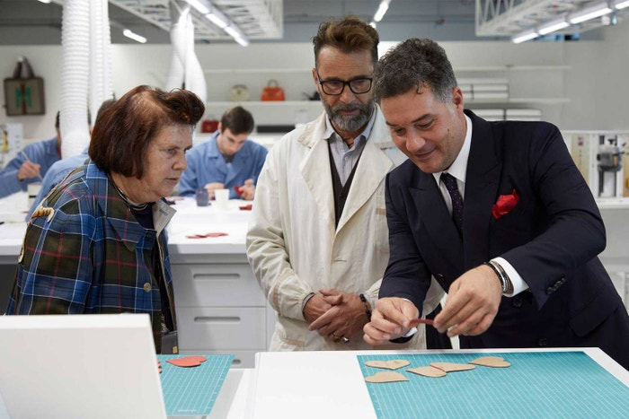 Made with a lot of heart: At the Gucci ArtLab, the focus is on Formazione e Passione (Learning and Passion) so that skills and knowledge are preserved for future generations.