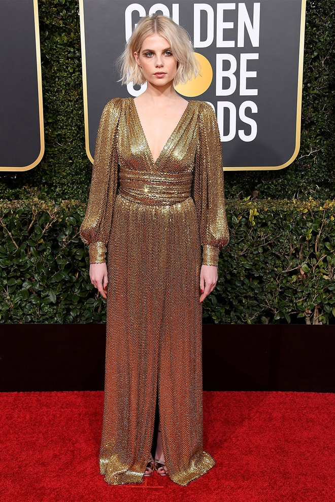 Lucy Boynton, 76th Annual Golden Globe Awards (2019)