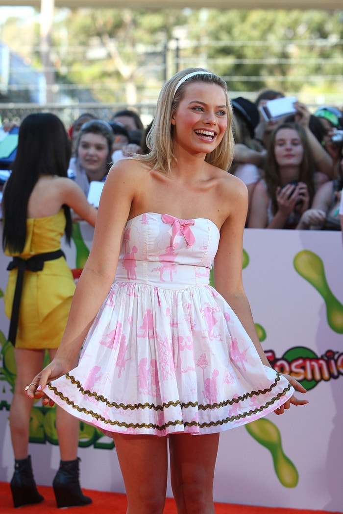 Margot Robbie na Nickelodeon Kids' Choice Awards 2009 v Melbourne, listopad 2009          Autor: Cameron Spencer/Getty Images
