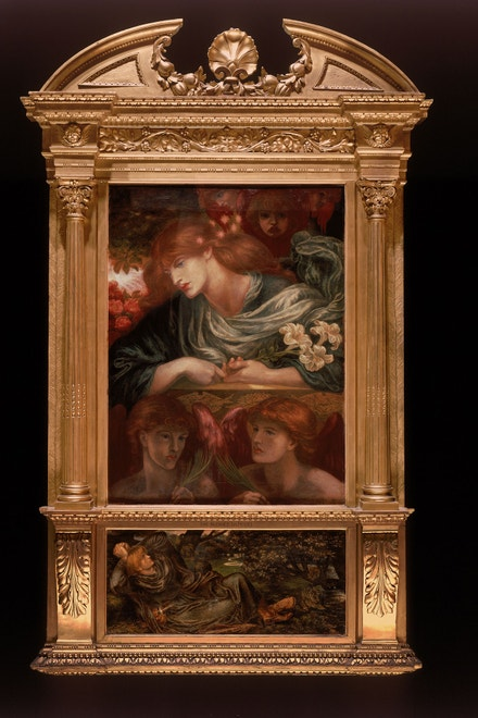 Dante G. Rossetti: The Blessed Damozel, 1875 až 1881 (Parabola of Pre-Raphaelitism: Turner, Ruskin, Rossetti, Morris and Burne-Jones)