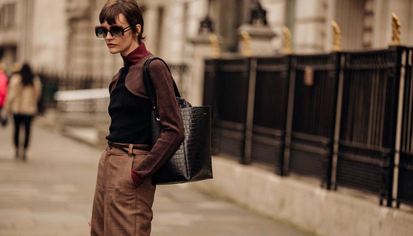 Progresivní street style z londýnského fashion weeku