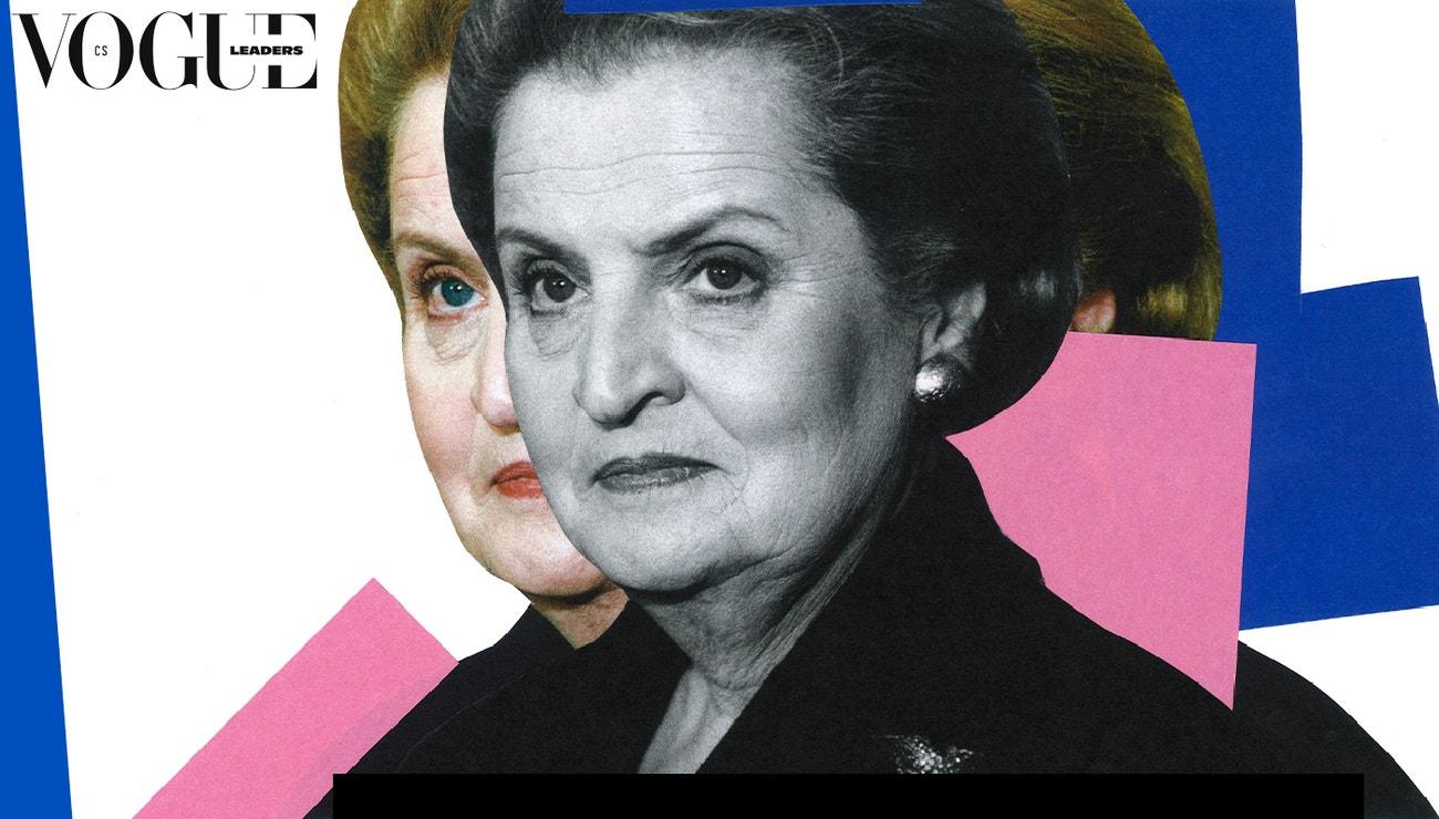 Madeleine Albright patronkou zahájení Vogue Leaders