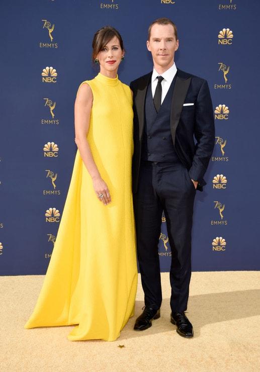 Sophie Hunter a Benedict Cumberbatch, EMMY Awards 2018