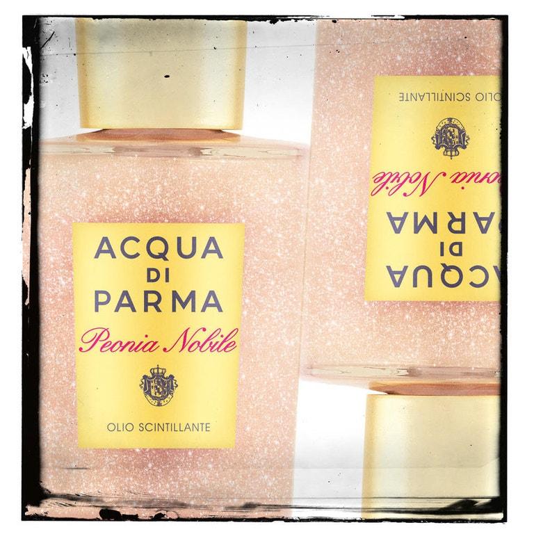 Třpytivý olej na tělo Peonia Nobile, ACQUA DI PARMA, prodává Sephora, 1590 Kč