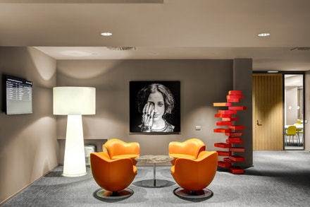 Istituto Marangoni: milánský design kampus, foyer