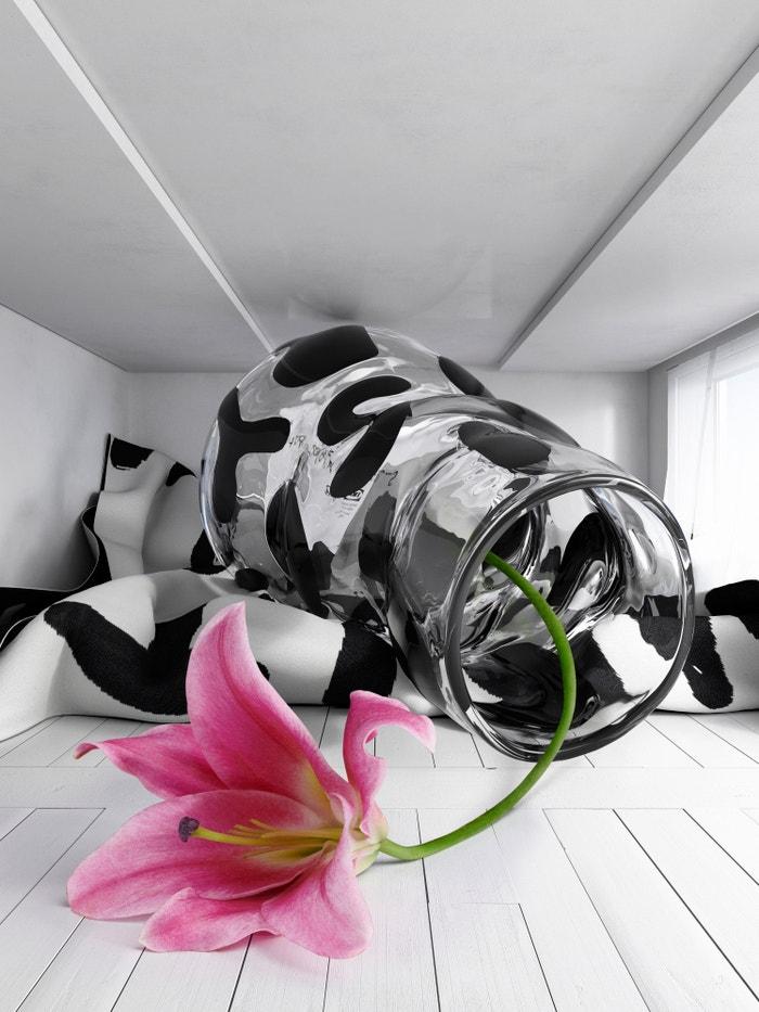 Váza, kterou pro letošní IKEA Art Event navrhnul umělec Stefan Marx