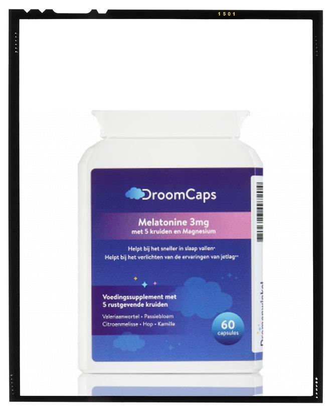 Tobolky DroomCaps, doplněk stravy, Dromenwinkel, prodává droomsap.cz