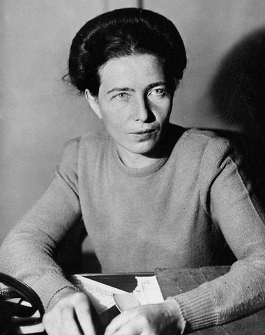 Svobodomyslná Simone de Beauvoir