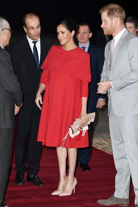 Princ Harry, vévoda ze Sussexu, a Meghan, vévodkyně ze Sussexu, na návštěvě Maroka, únor 2019