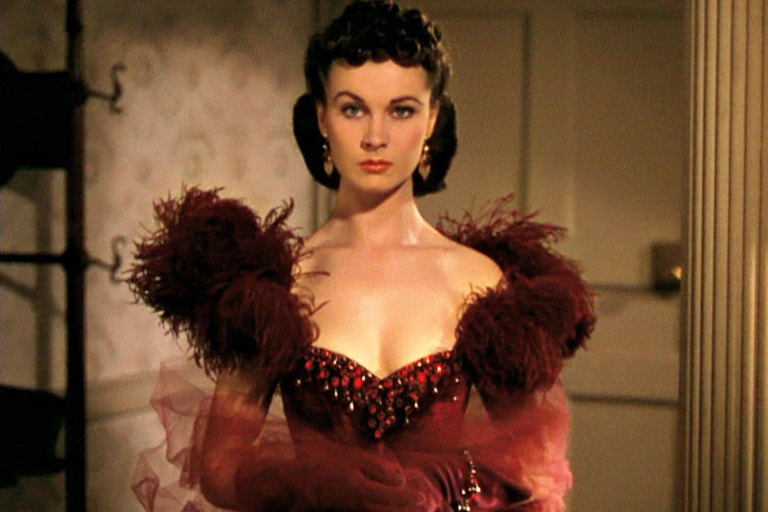 Vivien Leigh, Jih proti severu (Gone with the Wind/1939).
