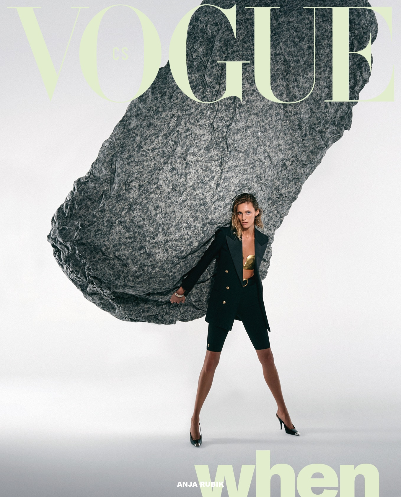 Anja Rubik, Vogue CS, březen 2021