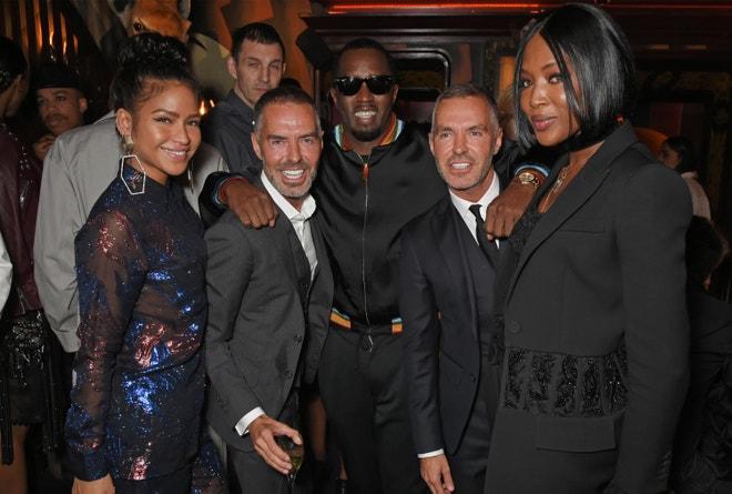 Dan a Dean Catenovi, Cassie, Sean Diddy Combs a Naomi Campbell