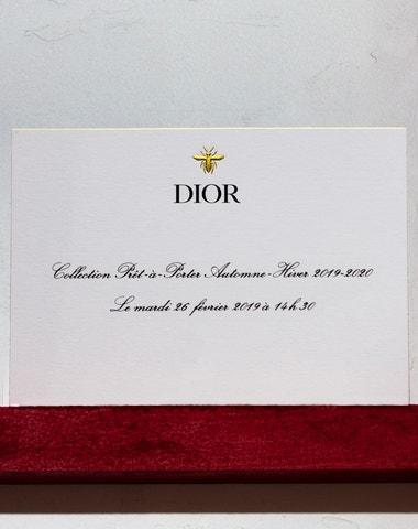 Živě z Paříže: Přehlídka Dior podzim - zima 2019/2020