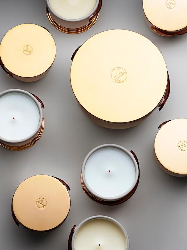 Vonné svíčky Louis Vuitton