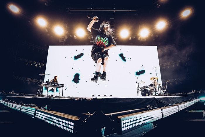 Billie Eilish, Outdoor Theatre, Coachella Valley Music And Arts Festival, Indio, Kalifornie, duben 2019 Autor: Rich Fury/Getty Images for Coachella