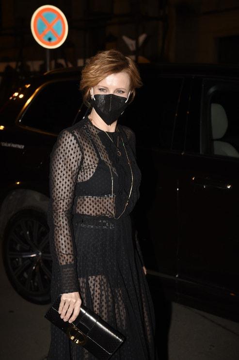 Jitka Schneiderová v šatech Dior, Český lev, 6. března 2021