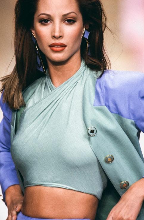 Christy Turlington, Valentino jaro - léto 1993