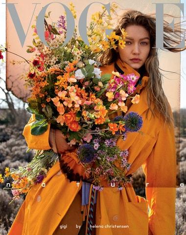 Gigi Hadid na obálce květnové Vogue Czechoslovakia