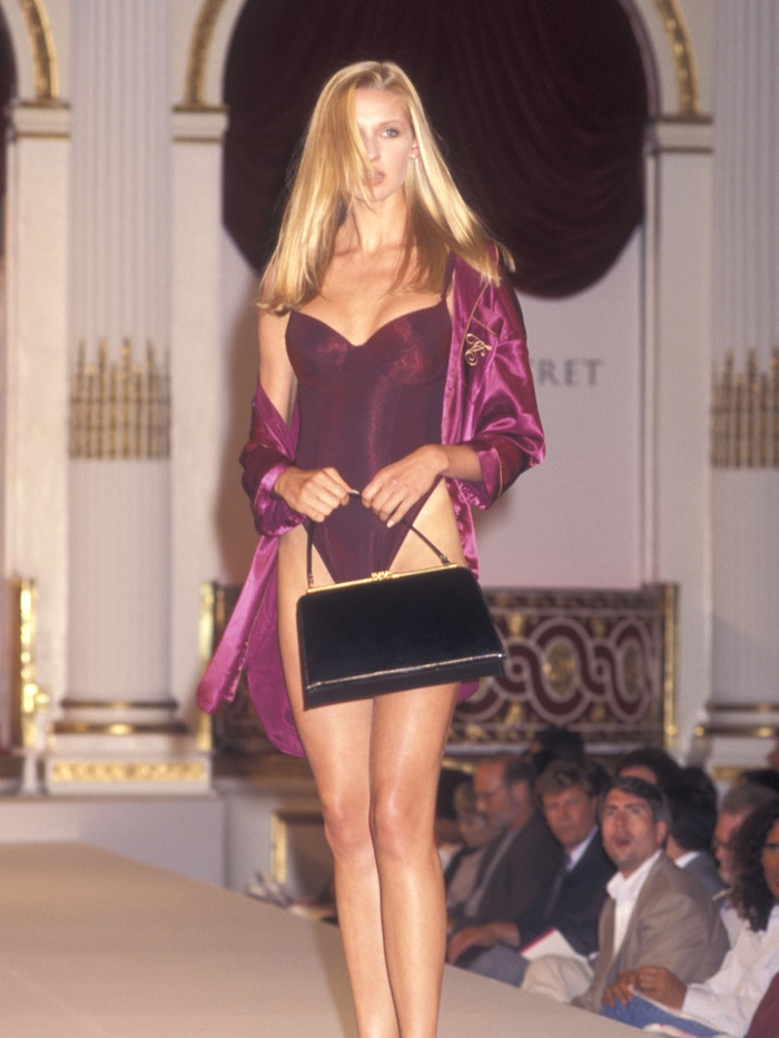 Catherine McCord na první Victoria's Secret Fashion Show, 1995 Autor: Ron Galella/Ron Galella Collection via Getty Images