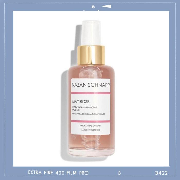 Hydratační pleťová mlha May Rose Face Mist, NAZAN SCHNAPP, prodává Nazanschnapp.com, 38 €