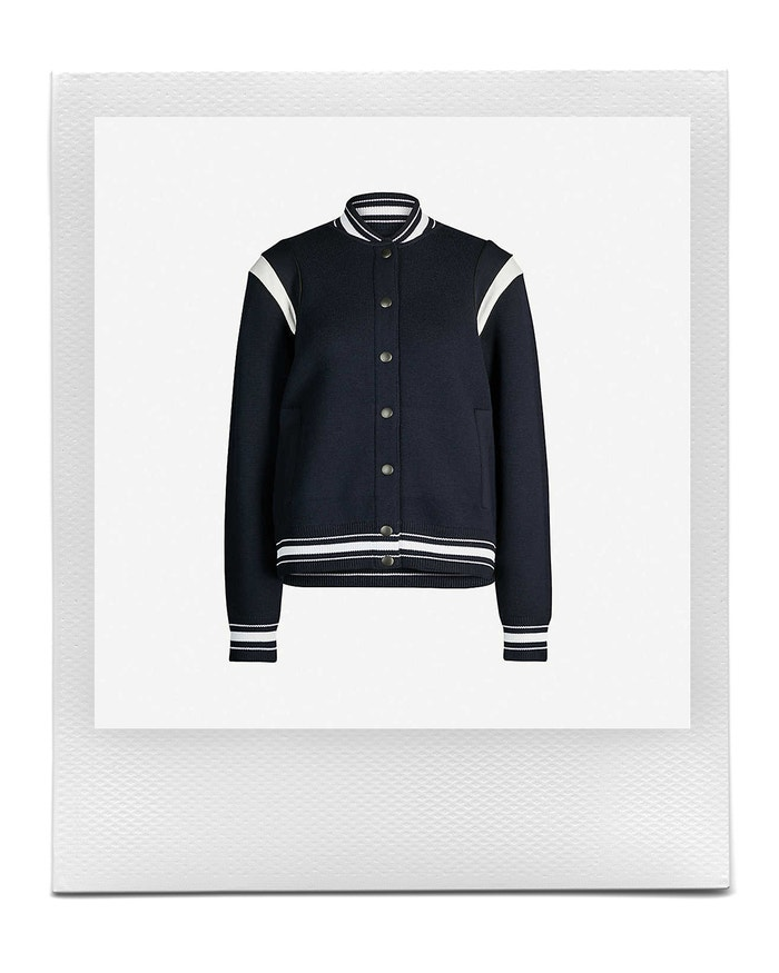 Logo-appliqué wool-knit jacket, GIVENCHY, sold by Selfridges, £ 1,095.00