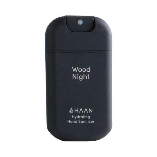 _ Sprej na ruce s antibakteriálním účinkem Wood Night_, HAAN, prodává Fann.cz, 179 Kč