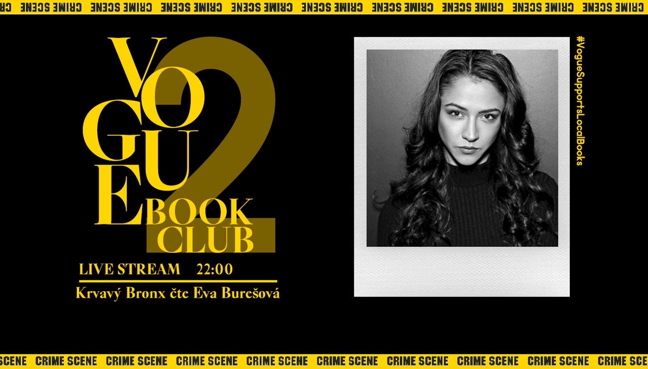 Eva Burešová čte Krvavý Bronx, už dnes ve 22 hodin!