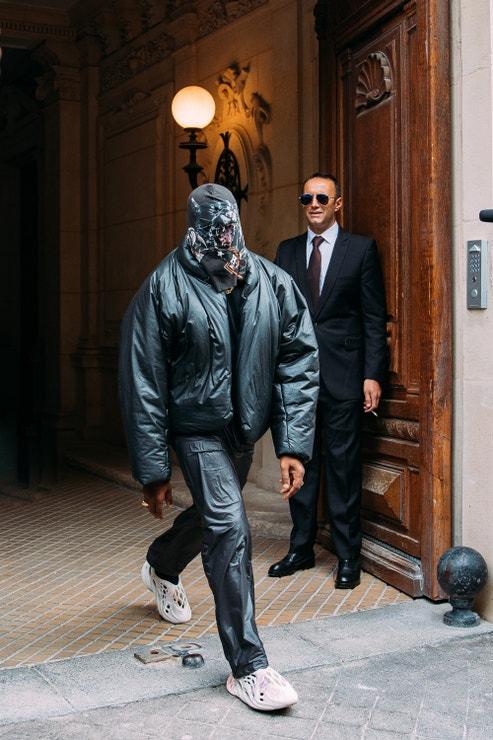 Kanye West, Haute Couture Week, Paris, 2021